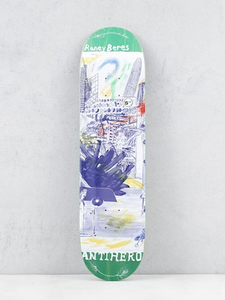 Antihero Raney Sf Then And Now Deck (green)