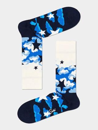 Happy Socks Stars Socks (white/black)