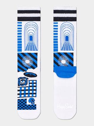Happy Socks Cover Socks (white)