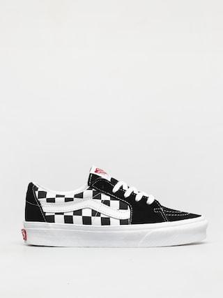 Vans Sk8 Low Shoes (canvas/suede black/checkerboard)