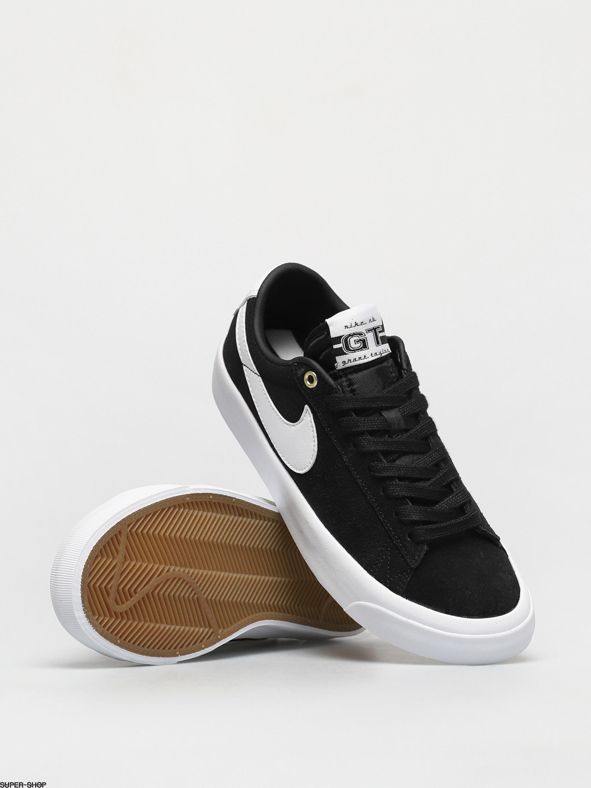 Nike SB Zoom Blazer Low Pro Gt Shoes (black/white black gum light ...
