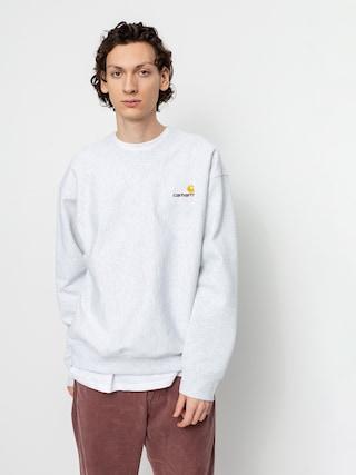 Carhartt WIP American Script Sweatshirt (ash heather)