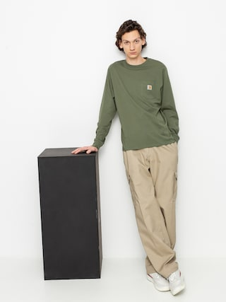 Carhartt WIP Pocket Longsleeve (dollar green)