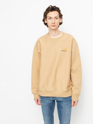 Carhartt WIP American Script Sweatshirt (dusty h brown)