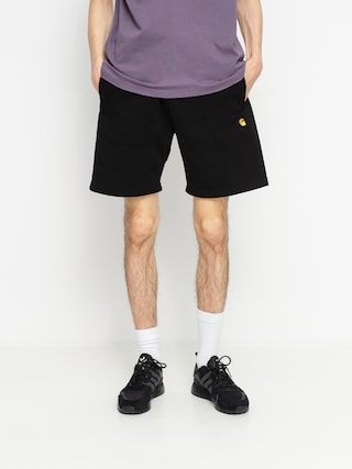 Carhartt WIP Chase Shorts (black/gold)