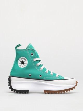 Converse Run Star Hike Hi Shoes (verdigris)