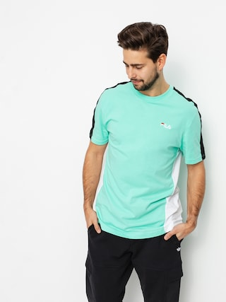 Fila Altan T-shirt (biscay green/bright white/black)