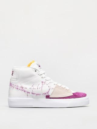 Nike SB Zoom Blazer Mid Edge Shoes (white/viotech white)
