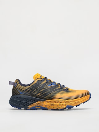 Hoka One One Speedgoat 4 Shoes (saffron/black iris)