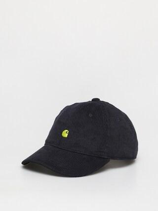 Carhartt WIP Harlem ZD Cap (dark navy/limoncello)