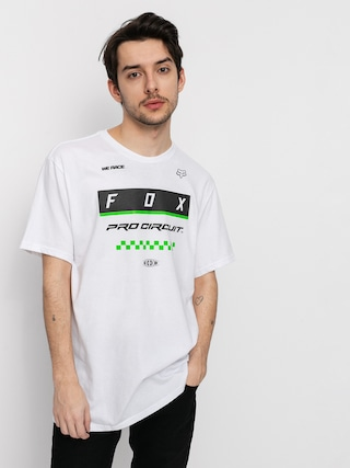 Fox Pc Block T-shirt (opt wht)