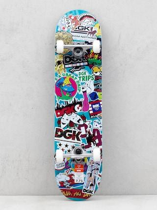 DGK Stix Skateboard (teal/multi)