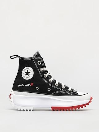 Converse Run Star Hike Hi Shoes (black)