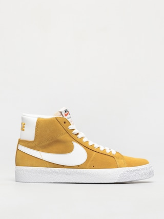 Nike SB Zoom Blazer Mid Shoes (university gold/white university gold)