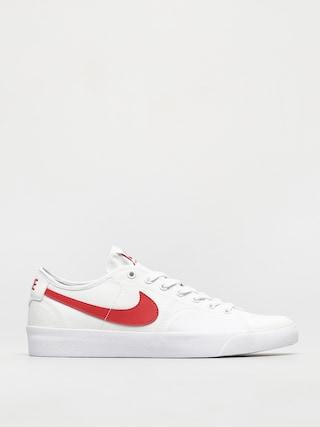 Nike SB Blazer Court Shoes (white/university red white black)