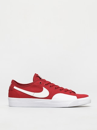 Nike SB Blazer Court Shoes (gym red/white gym red gum light brown)