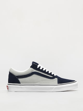 Vans Old Skool Shoes (2 tone suede dress blues/mineral gray)