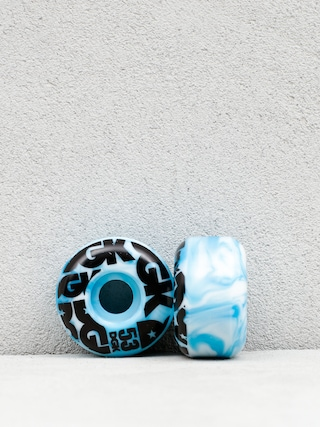 DGK Swirl Formula Wheels (blue/black)