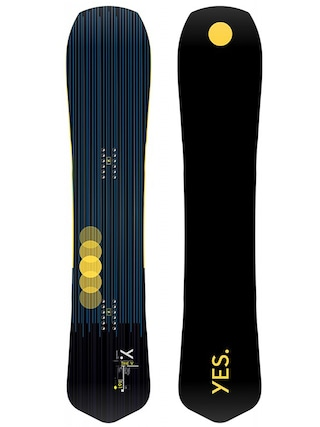 Yes The Y Snowboard (black/yellow)