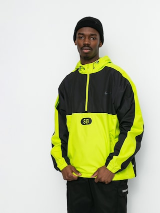 Nike SB Half Zip Jacket (black/cyber/black/anthracite)