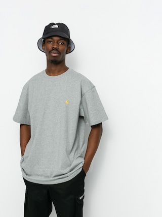 Carhartt WIP Chase T-shirt (grey heather/gold)