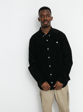 Carhartt WIP Madison Cord Shirt (black/wax)
