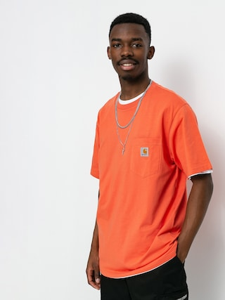 Carhartt WIP Pocket T-shirt (shrimp)