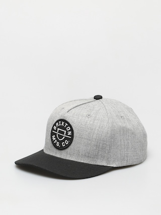 Brixton Crest C Mp Snbk Cap (heather grey/black)