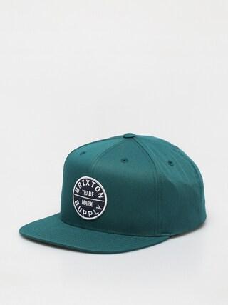 Brixton Oath III Snapback Cap (silver pine)