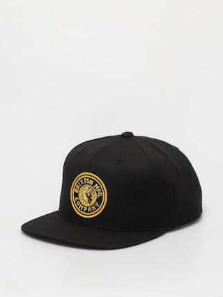 Brixton Rival Mp ZD Cap (black/gold)