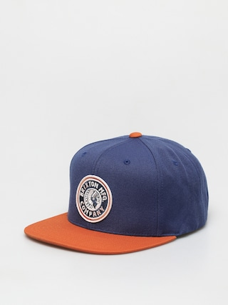 Brixton Rival Mp ZD Cap (joe blue/burnt orange)