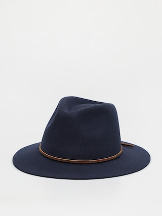 Brixton Wesley Fedora Hat (steel blue)