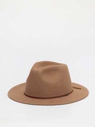 Brixton Wesley Fedora Hat (tan)