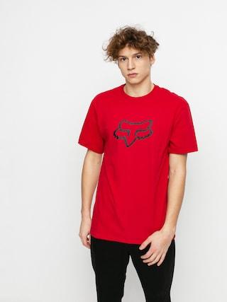 Fox Legacy Head T-shirt (chili)
