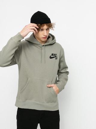Nike SB Icon Logo Sweatshirt (light army/black)