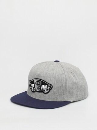 Vans Classic Patch Cap (heather grey/dress blues)