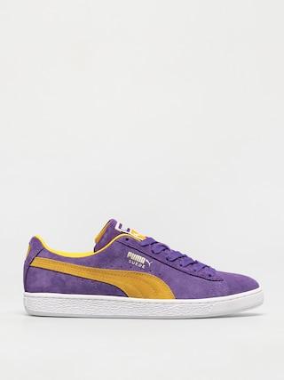 Puma Suede Teams Shoes (purple)