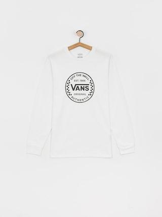 Vans Authentic Checker Longsleeve (white)