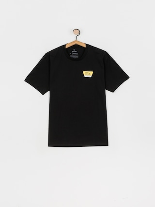 Brixton Linwood Stt T-shirt (black/yellow)