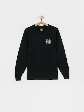 Brixton Crest Stt Longsleeve (black/light blue/pink)