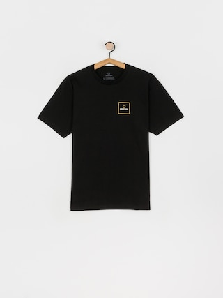 Brixton Alpha Square Stt T-shirt (black/lemon curry)