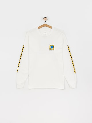 Brixton Beta Checkers Stt Longsleeve (white)