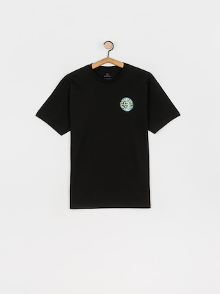 Brixton Crest II Stt T-shirt (black/yellow)