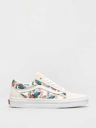 Vans Old Skool Shoes (spring daze jungle/marshmallow)