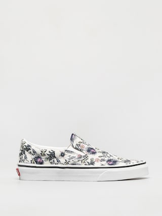 Vans Classic Slip On Shoes (paradise floral true white/true white)