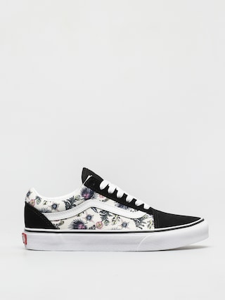 Vans Old Skool Shoes (paradise floral orchid/true white)
