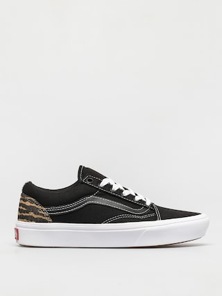 Vans Comfycush Old Skool Shoes (le tigre black/orchid)