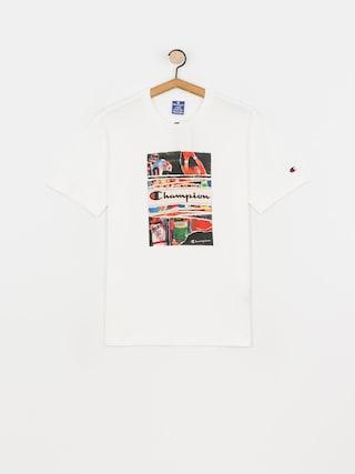 Champion Crewneck 216032 T-shirt (wht)