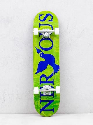 Nervous Classic Logo Skateboard (green)