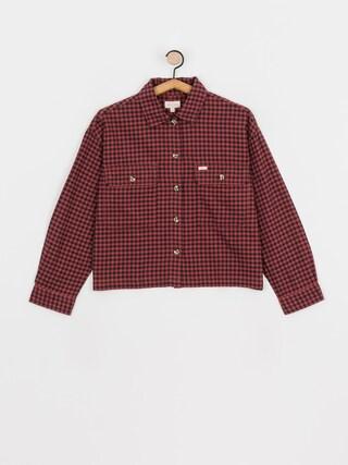 Brixton Bowery W Lw Flannel Ls Shirt Wmn (cowhide)